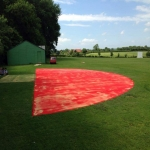 Long Jump Runway Installation in Apley Forge 1