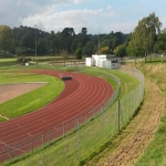 Secondary School Athletics Surface Installation in Alltmawr 5