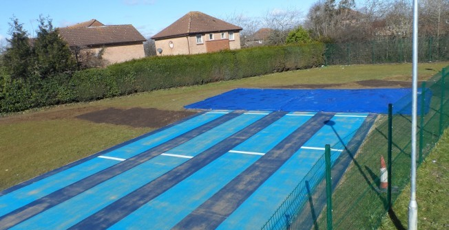 Long Jump Pit Installers in Abbey Field