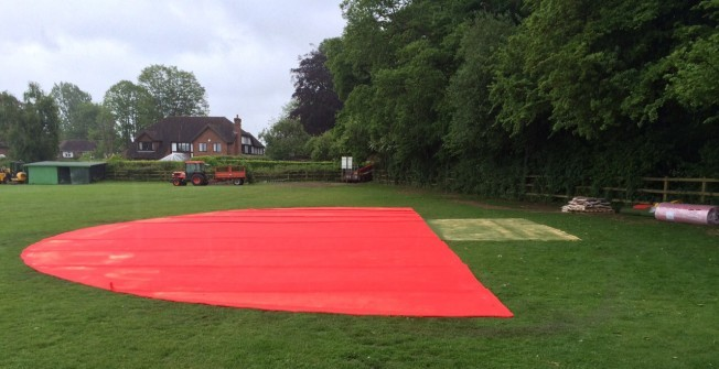 Recreational High Jump Surfacing in Apsley End