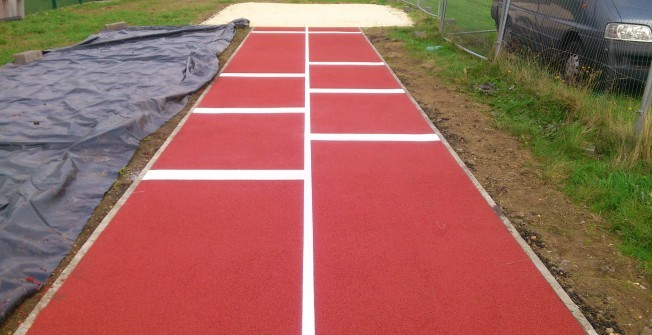 Athletics Runway Specification in Aird