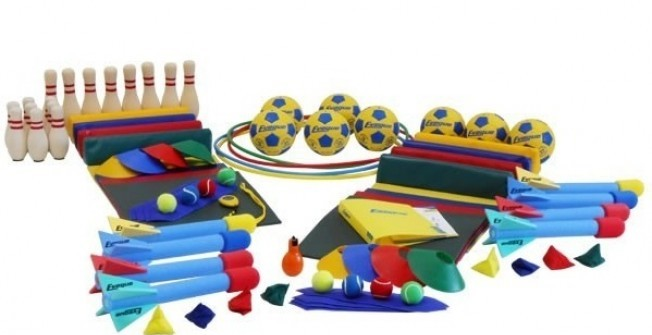 Infant Sports Hall Equipment in Scottish Borders